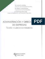 Administracion y Direccion de Empresas Teoria y Ejercicios Resueltos - Eduardo Perez Gorostegui,
