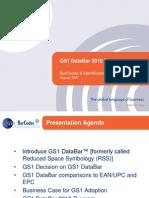GS1 DataBar 2010 Presentation