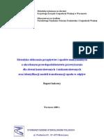03-hydrologia-Metodyka Qmax Raport końcowy