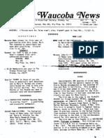 Waucoba News Vol. 1 No. 4 Autumn 1977
