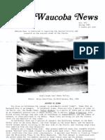 Waucoba News Vol. 7 Spring 1983