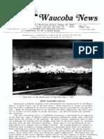 Waucoba News Vol. 7 Summer 1983