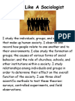 Think Like a Sociologist Poster-1