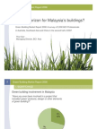 Green Building Market Report 2008 Malaysia