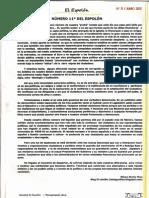 Saludo-Editorial revista EL ESPOLON nº11 por Bibiano Montes