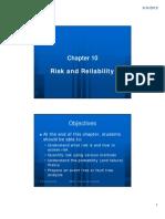 CBB2093 (10) Risk and Reliability