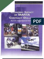 MARTA'S Economic Impact