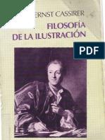 Cassirer Ernst - Filosofia de La Ilustracion