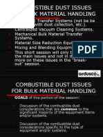 Combustible Dust BulkMaterialHandling