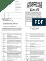 Agenda Giugno 2012