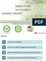 How Supply Chain Management Enable Greener World