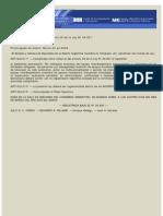 Ley 26.480. Asistencia Domiciliaria