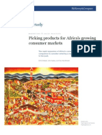 Picking Products for Africa Consumer