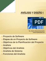 Analisis y Diseño de Sistema I Clase 1
