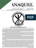 Revista ANAQUEL Junio 2012 IES Pedro de Luna