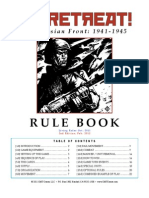 No Retreat! The Russian Front - Rules feb 2012