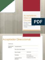 Acopladores Direccionales y Circuladores