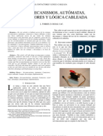 Servomecanismos, Automatas, Contactores y Logica Cableada