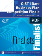 Business Plan Competition Finalists