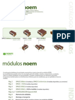 Catálogo Módulos NOEM (MADERA TRATADA)