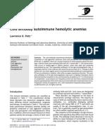 Cold Antibody Autoimmune Hemolytic Anemias Jan2008