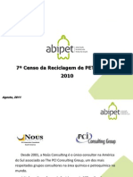 Setimo Censo Da Reciclagem Do PET No Brasil