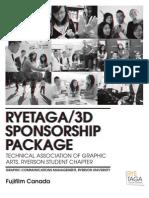 RYETAGA Sponsorship Package Sample