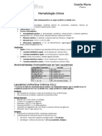 Telmeds.org Hematologa Clinica Resumen