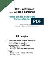 Sanitário - Fossa Septica