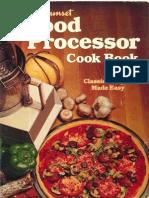 Sunset Food Processor Cookbook