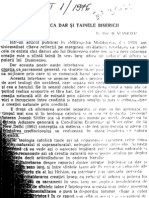 Dumitru Staniloae - Creatia CA Dar Si Tainele Bisericii (1)