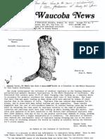 Waucoba News Vol. 7 No. 4 Autumn 1983