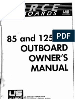 Force 85-125 HP Outboard Owners Manual on tachometer repair, tachometer installation, tachometer gauges, tachometer connectors, faria tachometer schematic, auto tachometer schematic, stewart warner tachometer sender schematic,