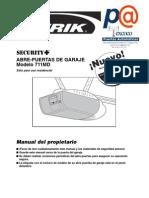711 Manual del instalador español
