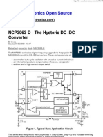 NCP3063-D - The Hysteric DC-DC Converter