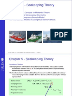 Chapter 5 – Seakeeping Theory