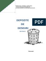Referat Miu (Sumanaru) Depozite de Deseuri