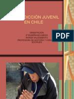 DROGADICCIÓN JUVENIL EN CHILE