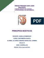 Monografia de Principios Bioeticos Basica