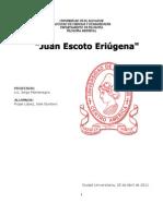 REPORTE DE ESCOTO ERIUGENA