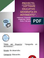 presentación proyecto software educativo geografía en movimiento