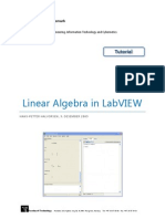 Linear Algebra in LabVIEW