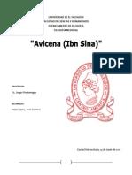 REPORTE DE AVICENA. IBN SINA. FILÓSOFO MUSULMÁN