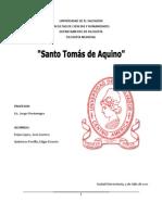 REPORTE DE SATO TOMÁS DE AQUINO