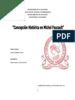 Concepción de la Historia en Michel Foucault