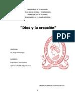 DIOS Y LA CREACIÓN. PENSAMIENTO DE TOMÁS DE AQUINO POR COPLESTON