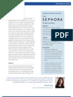 Sephora Facebook Ad Case Study