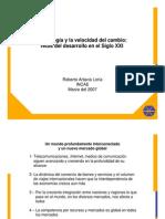 Roberto Artavia - Tecnología y la Velocidad del Cambio