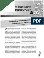 Revolución y contrarevoluciónn en la independencia (1810-1814)