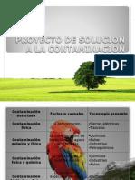 Proyecto de Solucion a La Contaminacion